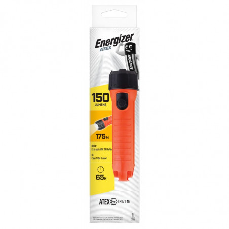 Torche Energizer ATEX  LED 1W Zone 0 2D non incl - 628909 - 638575