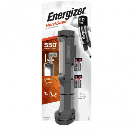 Torche Energizer Hardcase Work Light - aimant - 350lm - 4xAA incl - 639825