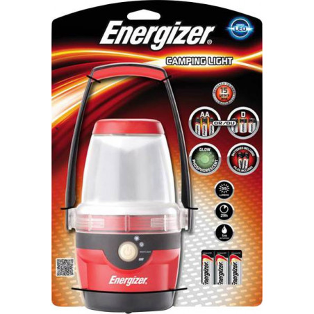 Torche Energizer Camping Light led 3xAA incluses 634495