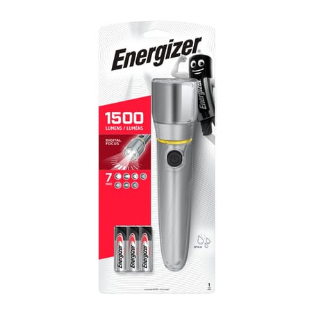 Torche LED Energizer - HD Vision focus - 1300Lm - 6xAA incl. - LTENER419597