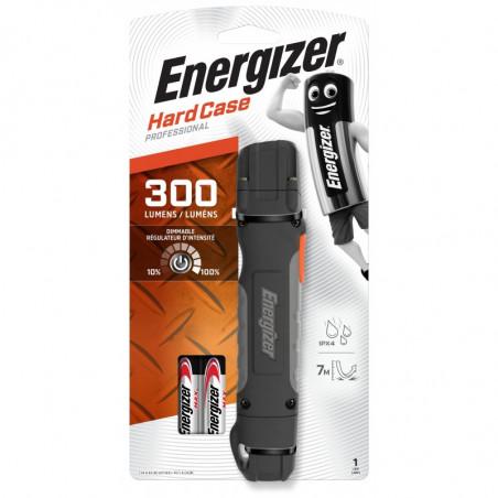 Torche Energizer Hardcase Pro 1 Led  300 Lm - 2xAA incluses - 639618 / 638531/ 630058