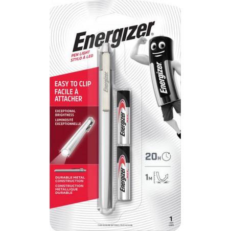 Torche Energizer Metal Penlite 2xAAA incl - 625701 - E301002400 - PLM22