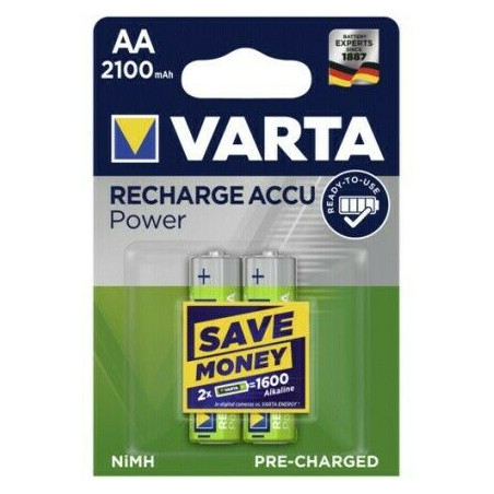 HR6 - Accu Varta AA 2100mAh READY 2 USE- blister de 2 - 56706 101 402