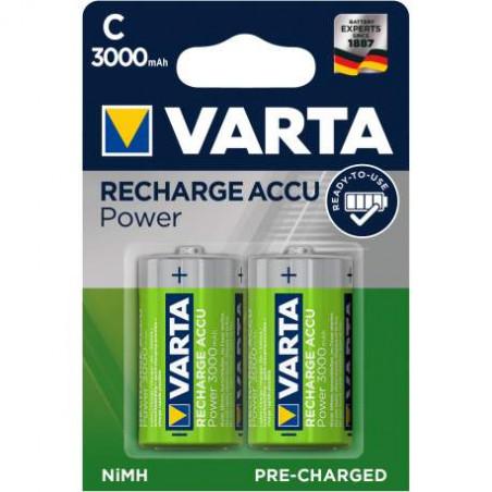 HR14 - Accu Varta R14 3000mAh - 56714 101 402 - blister de 2