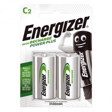 HR14 - Accu Energizer  Ni-Mh - Standard 2500mAh - Blister de 2 - Energizer