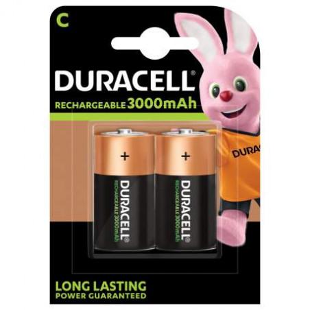 HR14 - Accu Duracell  Ni-Mh - Standard 2200mAh - Blister de 2