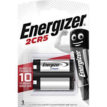 Pile photo 2CR5 Energizer  3V Lithium - Blister unitaire