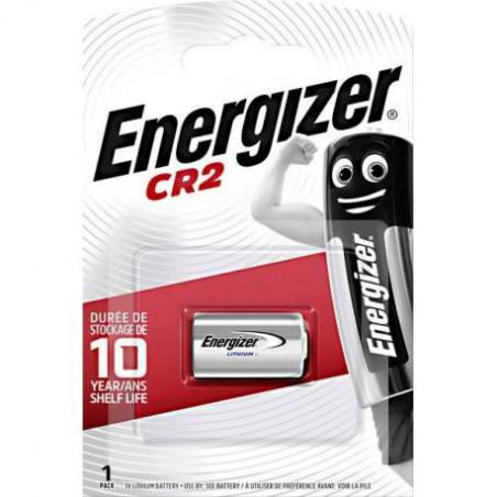 Pile Lithium Photo CR2 - 3V - Energizer Blister de 1