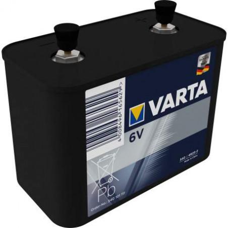 (Pack) 4R25/2 - pile specifique saline plastique  540 101 111 - unitaire par carton de 5