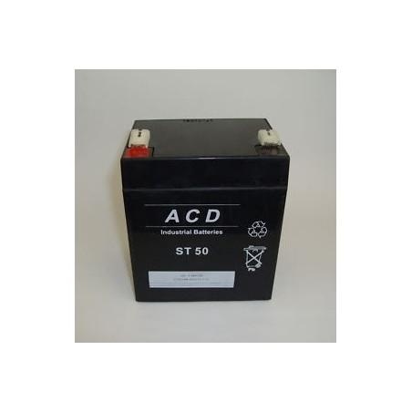 Batterie plomb 12V 5.4Ah  (L90xl70xH101) - ST50