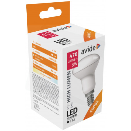 Ampoule AVIDE LED Spot R50 E14 6W 4000k - 286548