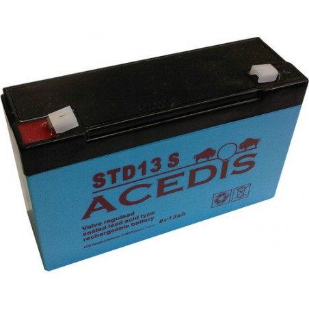 Batterie plomb 6V 13Ah - STD13S