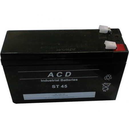 Batterie Plomb 12V 5Ah (151L*52l*94h) - ST45
