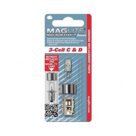 Ampoule Xenon  Maglite ML3 blister de 1 Magnumstar - LMXA301U