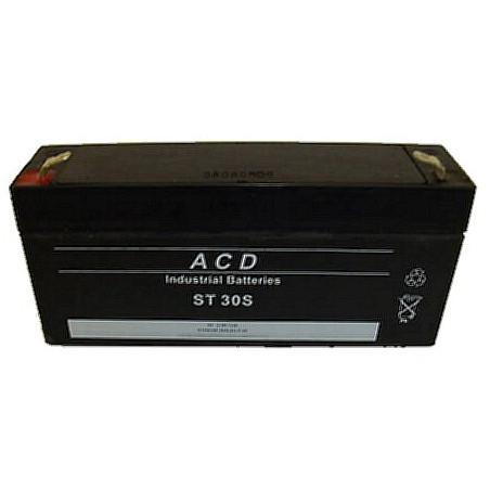 Batterie Plomb 6V 3.5Ah (134L*34l*60h) - ST30S