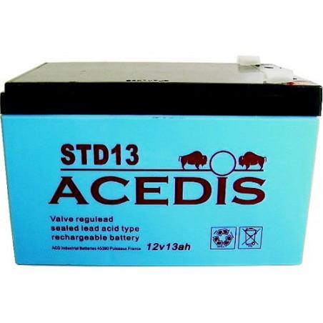 Batterie Plomb 12V 13Ah (151L*98l*95h) - STD13
