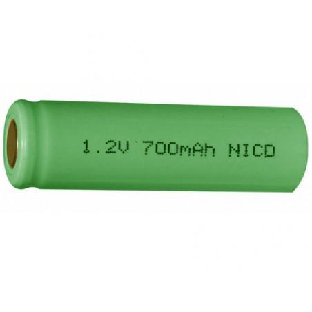 Accu NiCd 1.2V 700mAh réf ACN 7410 KR15/51 AA
