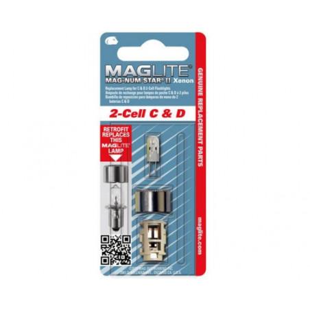 Ampoule Xenon  Maglite ML2 blister de 1 Magnumstar - LMXA201U