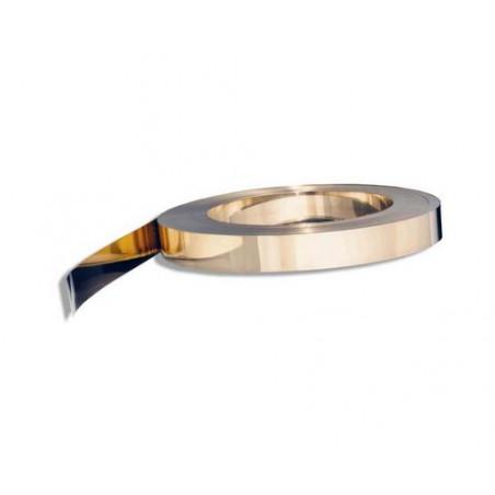 Feuillard Acier DC04 Recuit Nickele 7 mm x 0.10 mm