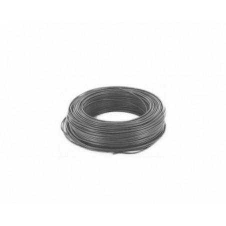 Fil de cablage electrique Noir PVC 0.75mm²  11A - au metre