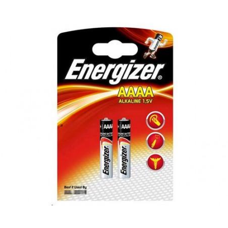 Pile alcaline AAAA Energizer LR61/E96 blister de 2