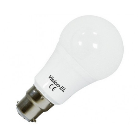 Ampoule LED - B22 - 12W - 3000K - blister - 230V - 220°- EL-Vision 73938