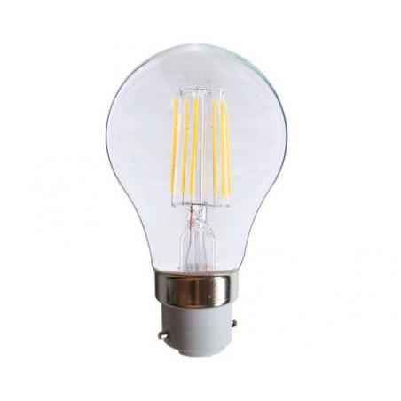 Ampoule LED COB Filament B22 bulb G60 - 8W - 2700K - El vision - 7140