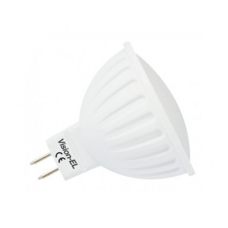 Ampoule LED - GU5.3 - 6W - 3000K ou 4000K ou 6000K - 120° - boite - 450Lm - Dim - EL-Vision