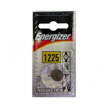 Pile electronique lithium CR1225 Energizer Blister de 1