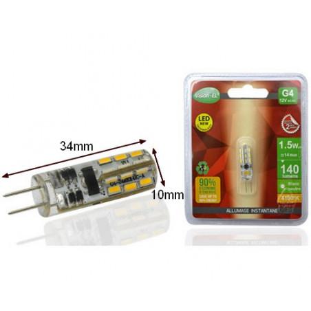 Ampoule LED G4 - 1.5watt - 4000K - 110lm - Vision EL - 7905