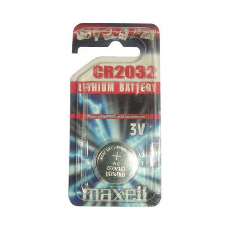 Pile bouton  lithium CR2032 maxell
