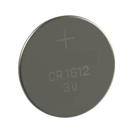 Pile bouton lithium CR1612 3V