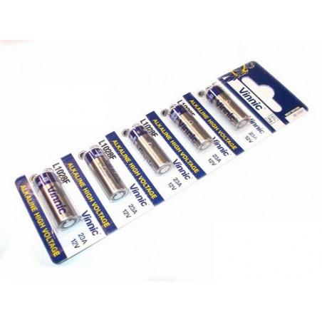 (Pack) Pile Alcaline 23A Generique 12V ( A23 ) Unitaire / par carte de 5