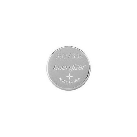 Pile de Montre Energizer oxyde d'argent SR41 - 384/392 - unitaire / boite de 10