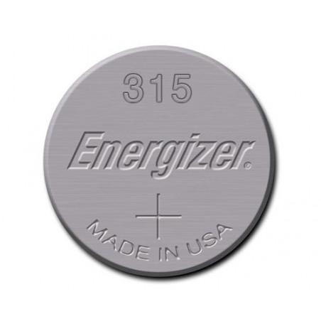 Pile de Montre Energizer oxyde d'argent SR67 - E315 - unitaire / boite de 10