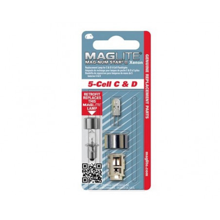 Ampoule Xenon  Maglite ML5 blister de 1 Magnumstar - LMXA501U