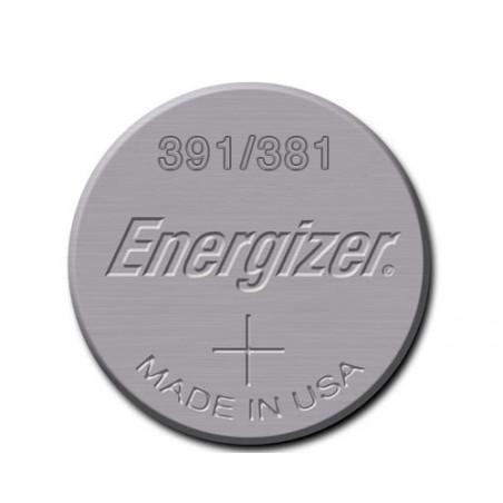Pile de Montre Energizer oxyde d'argent SR1120W - 391/381 - unitaire/boite de 10