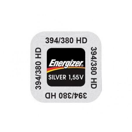 Pile de Montre Energizer oxyde d'argent SR936SW 394/380- unitaire / boite 10