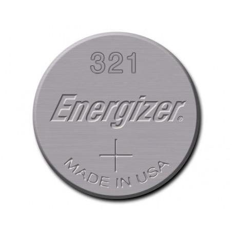 Pile de Montre energizer oxyde d'argent SR65 - 321ENER - unitaire / boite de 10