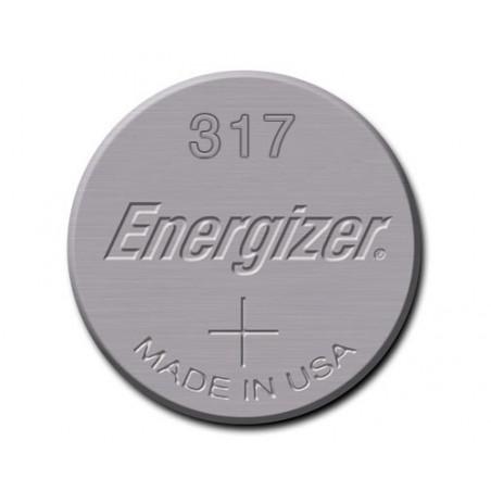 Pile de Montre Energizer oxyde d'argent SR62 - E317 - unitaire / boite de 10