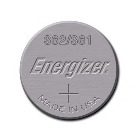 Pile de Montre Energizer oxyde d'argent 362/361 SR58 - unitaire / boite de 10