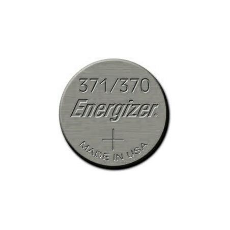 Pile de Montre Energizer oxyde d'argent SR920SW - 371/370 - unitaire / boite 10