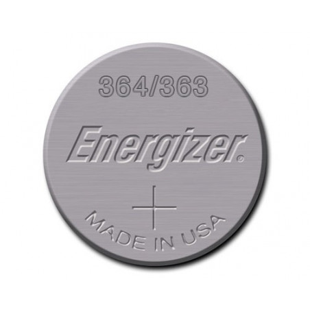 Pile de Montre Energizer oxyde d'argent SR621SW - 364/363 - unitaire / boite 10