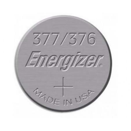 Pile de Montre Energizer oxyde d'argent SR626SW - 377 - unitaire / boite de 10