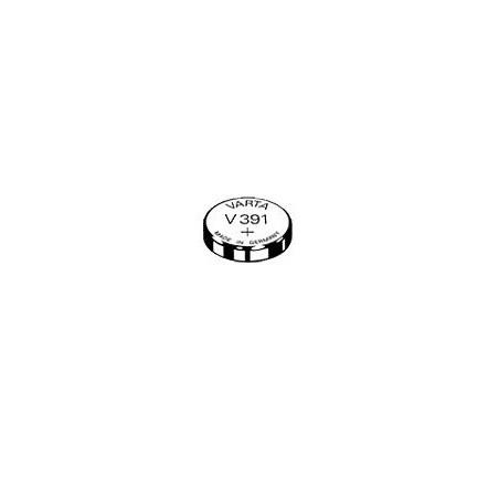 V391 - pile de Montre varta oxyde d'argent SR55 - 391 101 111 - unitaire / boite de 10