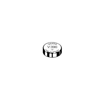 V390 - pile de Montre oxyde d'argent SR54- 390 101 111 - unitaire / boite de 10