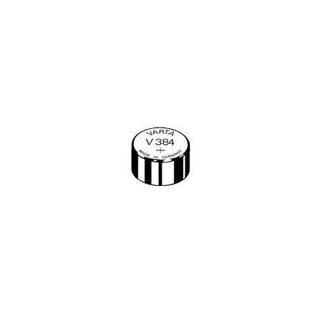 V384 - pile de Montre Varta oxyde d'argent SR41 - 384 101 111 - unitaire / boite de 10