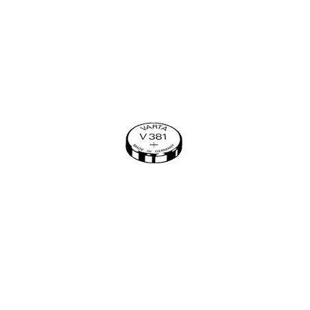 V381 - pile de Montre Varta oxyde d'argent SR55 - 381 101 111 - unitaire / boite de 10
