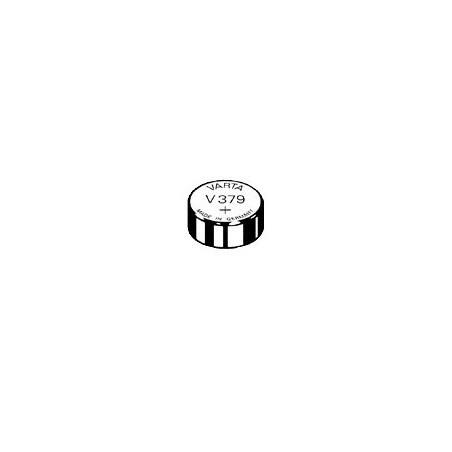 V379 - pile de Montre Varta oxyde d'argent SR63 - 379 101 111 - unitaire / boite de 10
