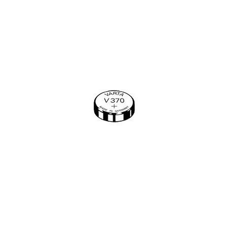 V370 - pile de Montre varta oxyde d'argent SR69 - 370 101 111 - unitaire / boite de 10